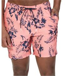 Nautica Swim Trunks Size Chart Details About Nautica Mens Floral Swim Bottom Trunks