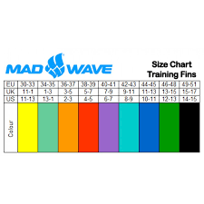 Mad Wave Swim Fins Long Blade