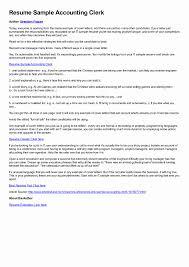 Resume Format For Freshers Accountant Lovely Resume Chartered