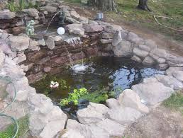 Small Picture Garden Pond Construction And Design Backyard Koi Pictures Also