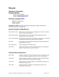 Medical Interpreter Resume Tremendous Medical Interpreter Resume 24 Shalomhouseus 3