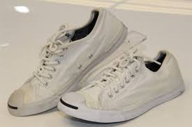 Converse Jack Purcell Womens 7 37 5 White Canvas Low Tops