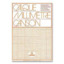 Canson Graph Paper Pad Transparent A4 70 75 G M 50 Sheets