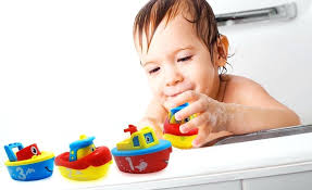 toddler bath toy set fun toys for boys and girls magnet boat toddlers bathtub boats