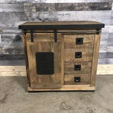 industrial metal and wood furniture. Keep Calm Carry On Industrial Rustic Small Chest Of Drawers Metal And Wood Furniture