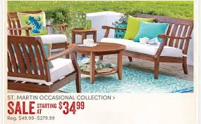 Cost Plus World Market 30% off St Martin Outdoor Furniture up
