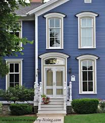 historic exterior paint colorsHome Tour in the Historic District of Naperville Illinois  Town