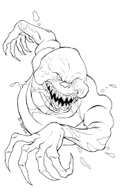 Scary Halloween Coloring Pages Free Large Images Coloring