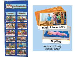 Daily Schedule Chart Classroom Helper Chart Preschool