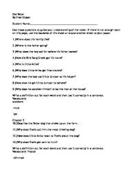 old yeller by fred gipson literature circle discussion questions and activities