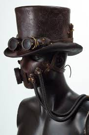 Steampunk Leather Tophat by Valimaa ...