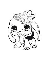 Littlest Pet Shop Coloring Page Littlest Pet Shops Coloring Page For