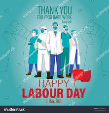 Happy Labour Day 2020 Vector 1st ...