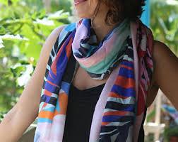 Resplendent scarves that narrate stories of by CelestreeStore