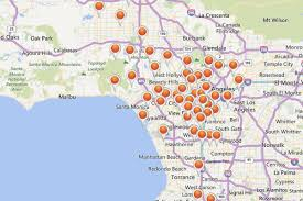 mapping los angeles's rash of power outages from that wild windy