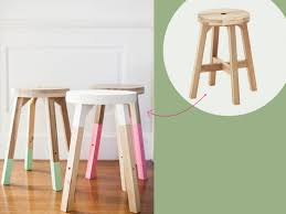 ikea furniture hack. 11. Boring Stool Turned Fun Ikea Furniture Hack