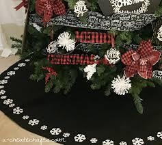 Plaid Christmas Tree Chalkboard Plaid Christmas Tree U Create