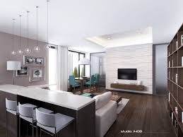 Apartment:Clean And Clear White Contemporary Apartment Design Ideas With  Minimalist Furniture Enticing Minimalist Interior