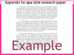 research paper apa style appendix for apa style research paper college paper writing service