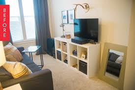Office Living Room Home Office Apartment Therapy