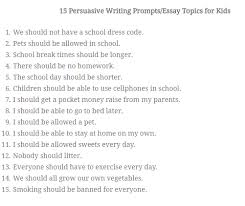 sample persuasive writing prompts year wcc nws 0 comments