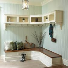 Bench With Storage And Coat Rack Corner Entryway Furniture Bench With Coat Rack STABBEDINBACK Foyer 69