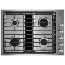jgd3430gs jenn air 30 quot downdraft gas cooktop stainless home depot kitchenaid gas grills kitchenaid 2 burner gas grill