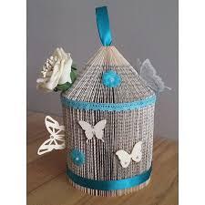 folded book birdcage