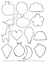 color by shape coloring pages simple shapes sheets kids how to in the truth about printable