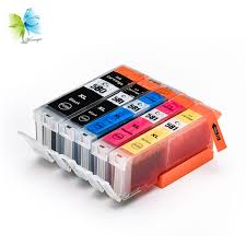 <b>Winnerjet</b> 5 <b>Sets</b> 5 Colors <b>Compatible</b> Ink Cartridges Full with Ink and
