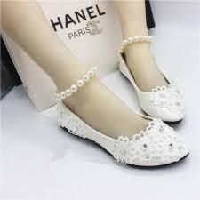 white flat shoes handmade wedding bride wedding shoes lace pearl Wedding Shoes Handmade white flat shoes handmade wedding bride wedding shoes lace pearl bracelet strap beaded bridesmaid shoes ivory bridal shoes bridal shoes bridesmaid flats wedding shoes handmade