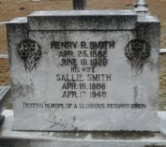 Sallie Smith Smith (1855-1940) - Find A Grave Memorial