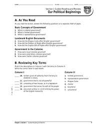 Chapter 2 Section 4 Creating The Constitution Chart Answers Chapter 2 Section 1 Guided Reading Analy High School Staff