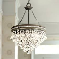 full size of bronze drum chandelier with crystals shown in antique brass finish etruscan smooth oysters