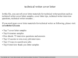 Brilliant Ideas Of Simple Cover Letter For Technical Writer Fresher