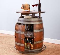 this ultimate wine barrel table has a