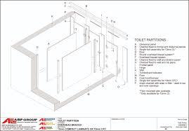 Bathroom Stalls Dimensions Bathroom Stall Ideas Freedom - Bathroom toilet partitions