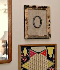 framed burlap monogram wall art decor diy on framed wall art decor with framed burlap monogram wall art domestically speaking