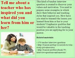 Common Teacher Interview Questions And Answers 10 Math Teacher Interview Questions And Answers Bestshopping