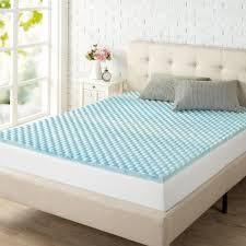 king size mattress cover. Exellent Cover Kingsize Swirl Gel Memory Foam Air Flow Mattress TopperHDSWFT150K  The  Home Depot Intended King Size Cover D