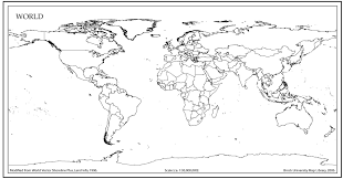 World Map Black And White Printable With Countries World Map Outline With Countries World Map Pinterest World Map