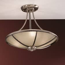 orion lederer antique brass ceiling light