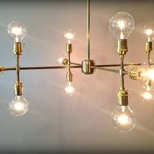 contemporary chandelier lighting handmade modern contemporary light sculpture multiple light bulb chandelier lamp by retro steam