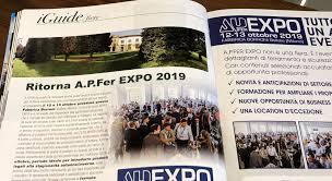IFERR Online - News - Conto alla rovescia per APFER EXPO:consulta l'agenda  on line