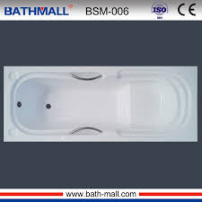 Image Acrylic Modern Built In Plastic Bath Tub With Handles Seat For Wholesale Alibaba Modern Built In Plastic Bath Tub With Handles Seat For Wholesale