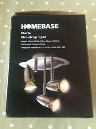 norte minidrop spot lights by homebase brand new in box