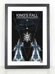 Destiny Kings Fall Raid Poster Print Ebay