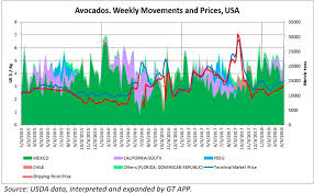 Avocado Price Chart 2018 Avocado Price Growth Slows Produce Blue Book