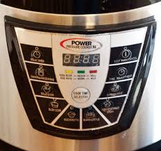 Electric Pressure Cooker Time Chart Pdf How To Use The Power Pressure Cooker Xl Pressure Cooking