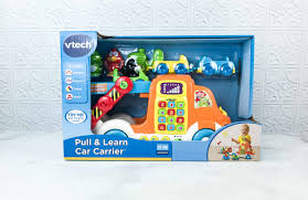 3 5 year olds vtech pull and learn car carrier pull 25 99 this is a nice educational toy for toddlers who are already in the phase of exploring new